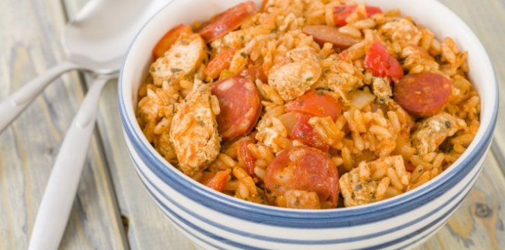 Delicious Chicken Jambalaya recipe