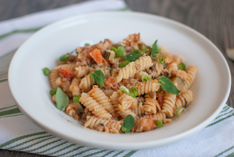 Vegan Pasta with Bolognese Sauce recipe
