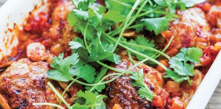 Intriguing Mexican Chicken Meatballs recipe