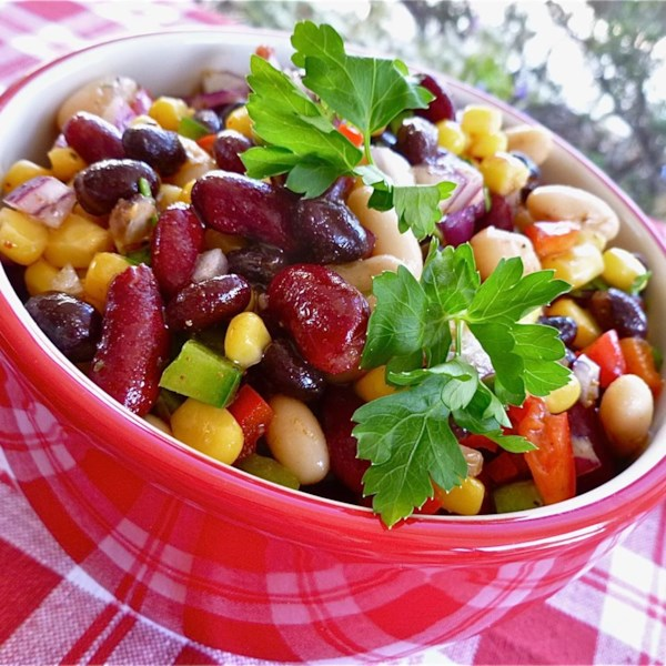 Quick Mexican Bean Salad recipe