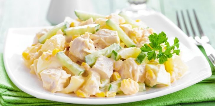 Amazing Chicken, Pineapple and Celery Salad recipe