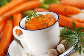 Healthy Mashed Potatoes with Carrots recipe